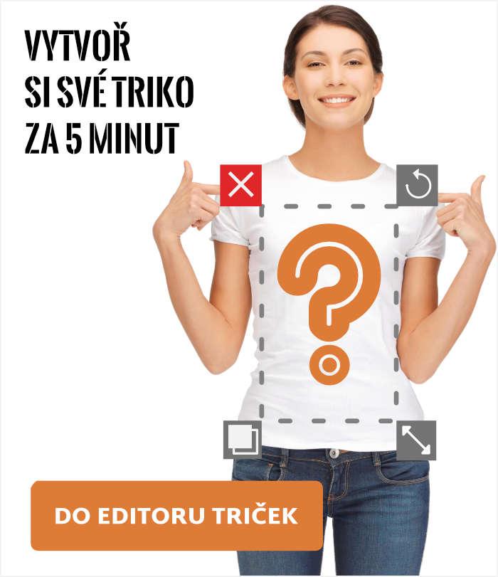 Editor trička s vlastním potiskem